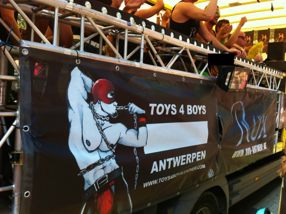 Toys 4 Boys : Toy boys at antwerp pride toys for website